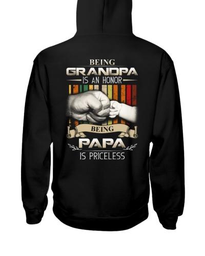 GRANDPA - BEING PAPA IS PRICELESS