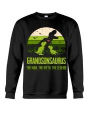 T-SHIRT - TO GRANDSON - T REX - THE LEGEND Crewneck Sweatshirt thumbnail