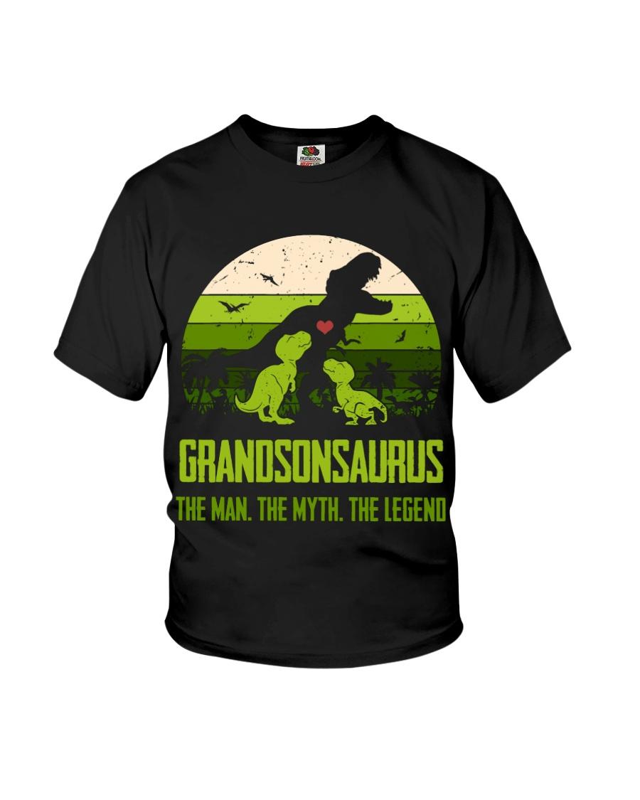 T-SHIRT - TO GRANDSON - T REX - THE LEGEND Youth T-Shirt