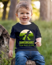 T-SHIRT - TO GRANDSON - T REX - THE LEGEND Youth T-Shirt lifestyle-youth-tshirt-front-4