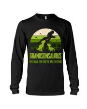 T-SHIRT - TO GRANDSON - T REX - THE LEGEND Long Sleeve Tee thumbnail
