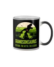T-SHIRT - TO GRANDSON - T REX - THE LEGEND Color Changing Mug thumbnail