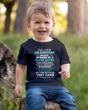 I am a lucky grandson Youth T-Shirt lifestyle-youth-tshirt-front-4