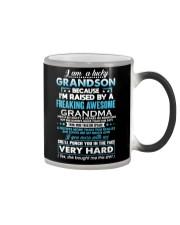I am a lucky grandson Color Changing Mug thumbnail