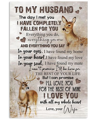 TO MY HUSBAND - DEER - I LOVE YOU