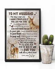 TO MY HUSBAND - DEER - I LOVE YOU 16x24 Poster lifestyle-poster-8