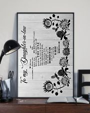 To My Daughter-in-law - Hummingbird - You Still  16x24 Poster lifestyle-poster-2
