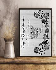 To My Daughter-in-law - Hummingbird - You Still  16x24 Poster lifestyle-poster-3