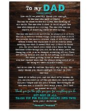 POSTER - TO DAD- HOW COULD WE 16x24 Poster front