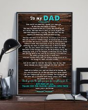 POSTER - TO DAD- HOW COULD WE 16x24 Poster lifestyle-poster-2