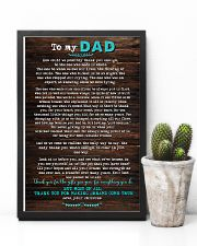 POSTER - TO DAD- HOW COULD WE 16x24 Poster lifestyle-poster-8