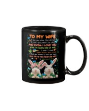 TO MY WIFE - RABIT - I LOVE YOU Mug front