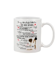 DAUGHTER TO MOTHER Mug front