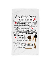 DAUGHTER TO MOTHER Hand Towel thumbnail