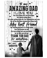 POSTER - TO DAD - SUPER HERO - I LOVE YOU 16x24 Poster front
