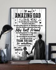 POSTER - TO DAD - SUPER HERO - I LOVE YOU 16x24 Poster lifestyle-poster-2