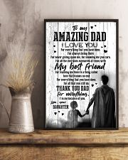 POSTER - TO DAD - SUPER HERO - I LOVE YOU 16x24 Poster lifestyle-poster-3