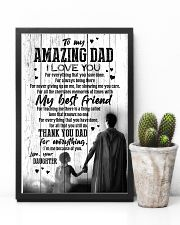 POSTER - TO DAD - SUPER HERO - I LOVE YOU 16x24 Poster lifestyle-poster-8