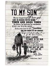 Dad to Son - Never Forget That I Love You  Vertical Poster tile