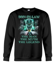 Son-in-law The man The myth The legend Crewneck Sweatshirt thumbnail