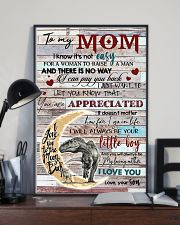 TO MY MOM - DINOSAUR - YOU ARE APPRECIATED 16x24 Poster lifestyle-poster-2