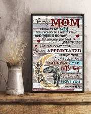TO MY MOM - DINOSAUR - YOU ARE APPRECIATED 16x24 Poster lifestyle-poster-3