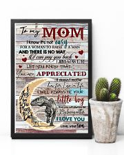 TO MY MOM - DINOSAUR - YOU ARE APPRECIATED 16x24 Poster lifestyle-poster-8