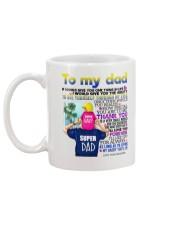 DAUGHTER TO DAD Mug back