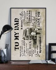 To My Dad - Trucker - Poster 16x24 Poster lifestyle-poster-2