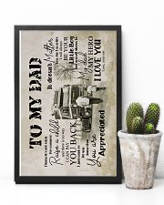 To My Dad - Trucker - Poster 16x24 Poster lifestyle-poster-8
