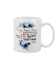 TO MY BONUS MOM Mug front