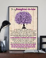 TO MY DAUGHTER-IN-LAW - FAMILY TREE - I LOVE YOU 16x24 Poster lifestyle-poster-2