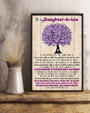 TO MY DAUGHTER-IN-LAW - FAMILY TREE - I LOVE YOU 16x24 Poster lifestyle-poster-3