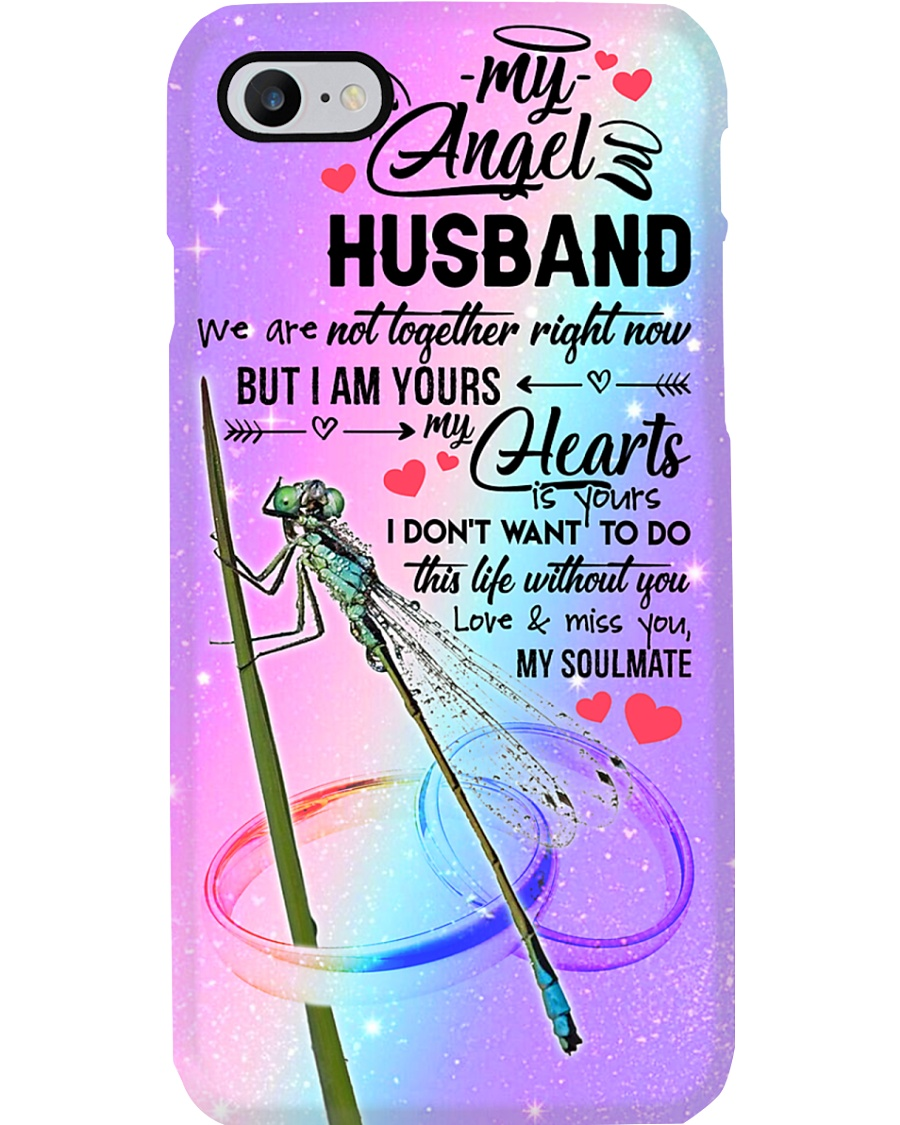 ANGEL HUSBAND - DRAGONFLY - MY HEART IS YOURS Phone Case