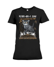 Son-in-law - Cat - You Volunteered - T-Shirt Premium Fit Ladies Tee tile