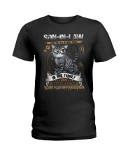 Son-in-law - Cat - You Volunteered - T-Shirt Ladies T-Shirt thumbnail