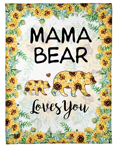 TO MY DAUGHTER - BEAR SUNFLOWER - LOVES YOU