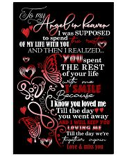 MY ANGEL HUSBAND - BUTTERFLY - MISS YOU 16x24 Poster front