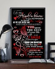MY ANGEL HUSBAND - BUTTERFLY - MISS YOU 16x24 Poster lifestyle-poster-2