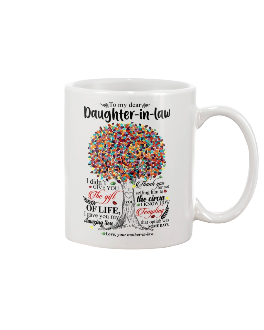 MOM TO DAUGHTER IN LAW Mug