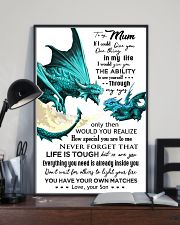 TO MY MUM - DRAGON - IF I COULD 16x24 Poster lifestyle-poster-2