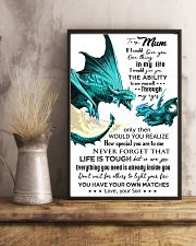 TO MY MUM - DRAGON - IF I COULD 16x24 Poster lifestyle-poster-3