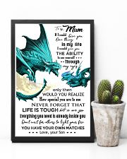 TO MY MUM - DRAGON - IF I COULD 16x24 Poster lifestyle-poster-8