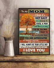 TO MY MOM - TREE - YOU ARE APPRECIATED 16x24 Poster lifestyle-poster-3