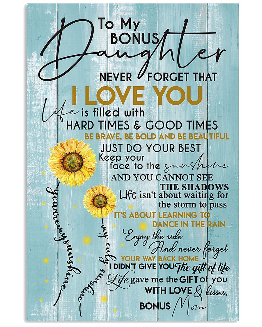 BONUS MOM TO BONUS DAUGHTER 16x24 Poster