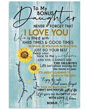 BONUS MOM TO BONUS DAUGHTER 16x24 Poster front