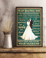 To Wife - I Am So Happy To Have You - Poster 16x24 Poster lifestyle-poster-3