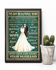 To Wife - I Am So Happy To Have You - Poster 16x24 Poster lifestyle-poster-8