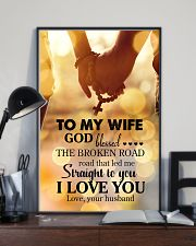 POSTER - TO MY WIFE - GOD - I LOVE YOU 16x24 Poster lifestyle-poster-2