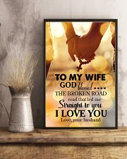 POSTER - TO MY WIFE - GOD - I LOVE YOU 16x24 Poster lifestyle-poster-3
